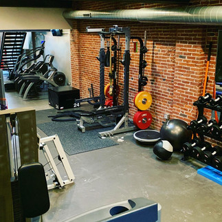 Over 2500 sqft of training space