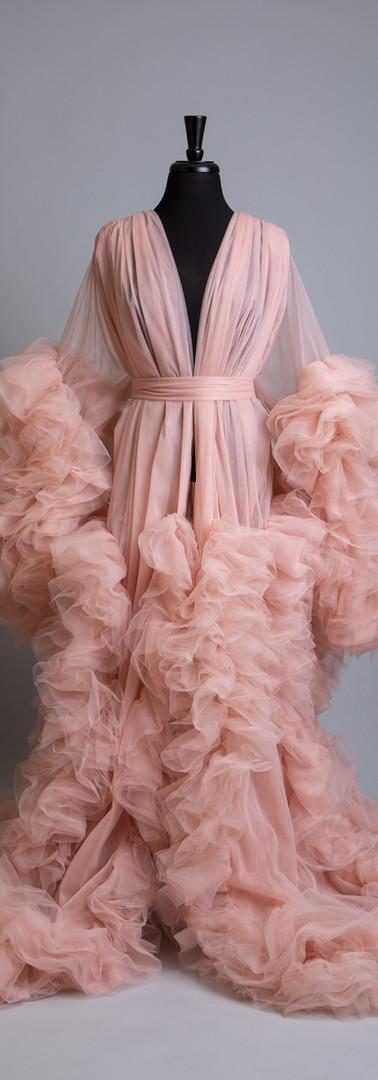Maternity Motherhood Gowns Barbara Pink