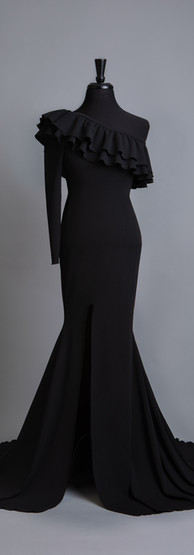 Maternity Motherhood Gowns Black One Sho