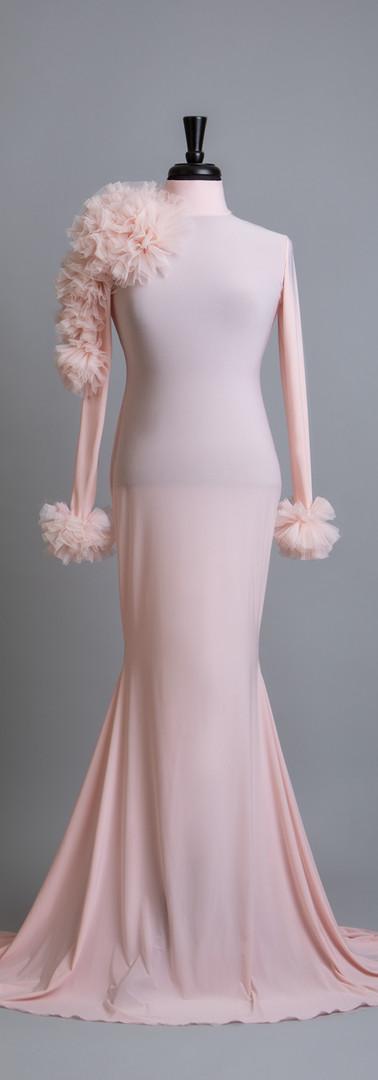 Maternity Motherhood Gowns Light Pink Ka