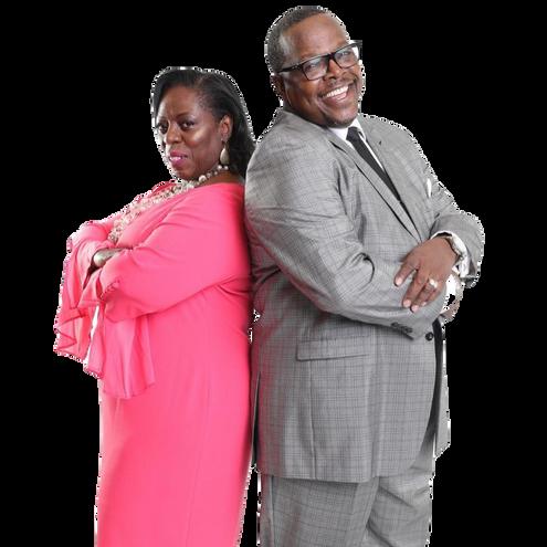 Bishop Milton C. Woods and Pastor Lady Brenda Woods