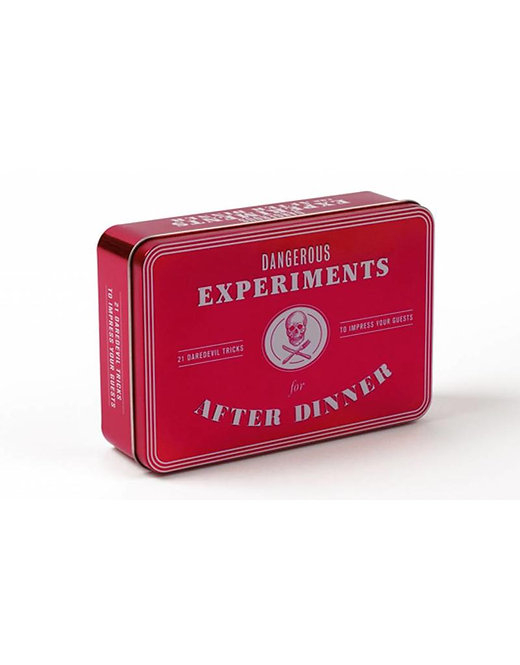 DANGEROUS EXPERIMENTS FOR AFTER DINNER THE BOX /ANGLAIS