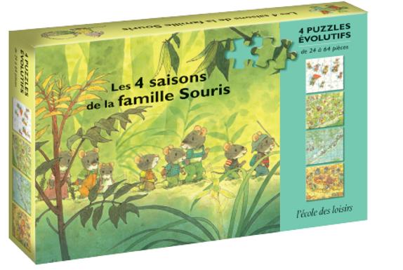 4 SAISONS DE LA FAMILLE SOURIS (LES)