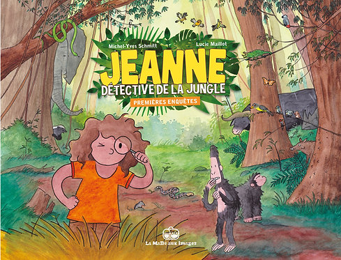 JEANNE  DETECTIVE DE LA JUNGLE