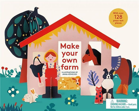 MAKE YOUR OWN FARM /ANGLAIS