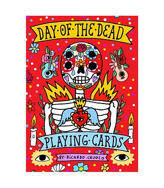 PLAYING CARDS: DAY OF THE DEAD /ANGLAIS