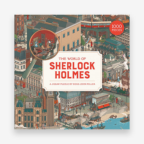 THE WORLD OF SHERLOCK HOLMES A JIGSAW PUZZLE /ANGLAIS