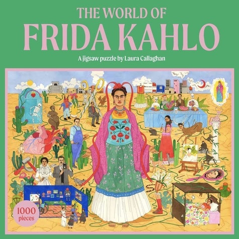 THE WORLD OF FRIDA KAHLO A JIGSAW PUZZLE /ANGLAIS