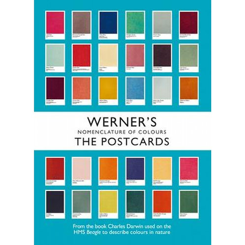 WERNER'S NOMENCLATURE OF COLOURS: THE POSTCARDS /ANGLAIS