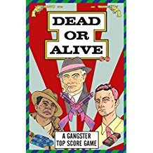 DEAD OR ALIVE GANGSTER TRUMP CARDS /ANGLAIS