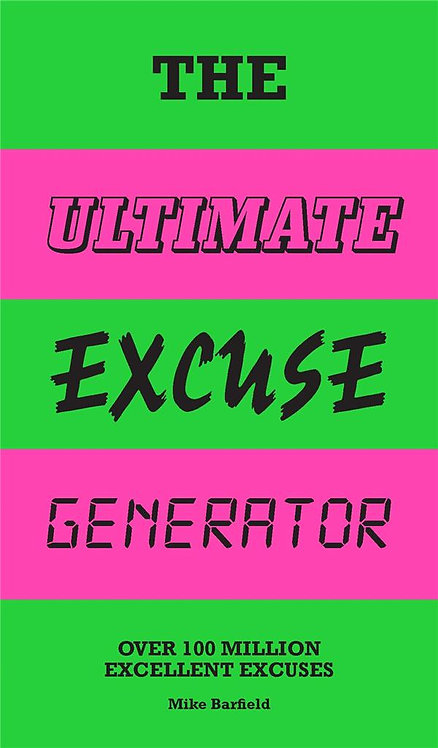 THE ULTIMATE EXCUSE GENERATOR /ANGLAIS