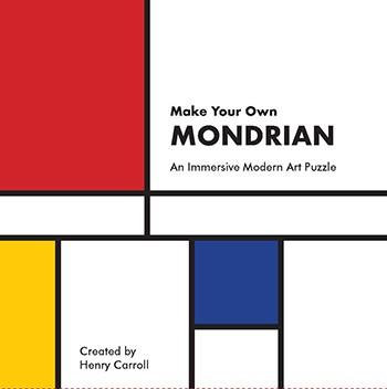 MAKE YOUR OWN MONDRIAN AN IMMERSIVE MODERN ART PUZZLE /ANGLAIS