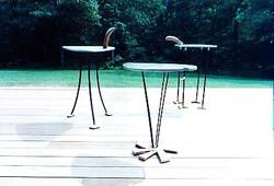 Amaganset tables
