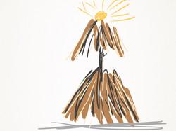 Bundle lamp sketch
