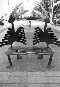 Toucan bench