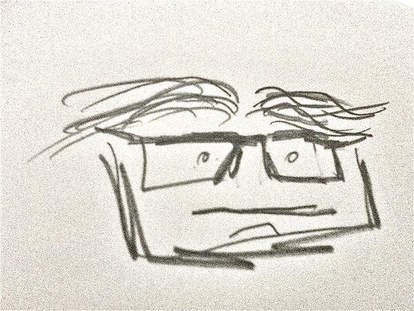 Thierry Job Self-portrait