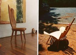 Denise chair and Amaganset armchair