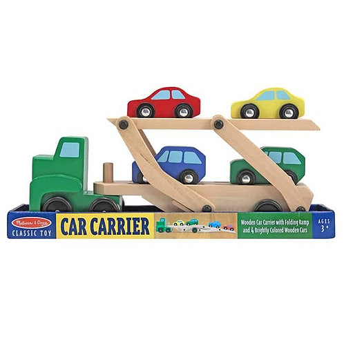מוביל מכוניות עם 4 מכוניות
