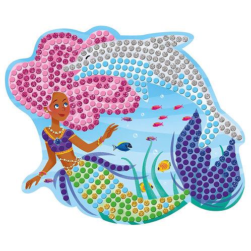כרטיסיות מוזאיקה דולפינים ובנות ים