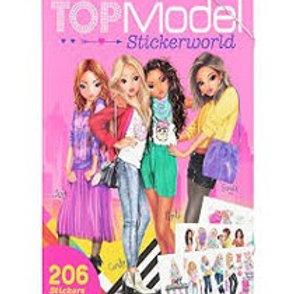 חוברת מדבקות חברות TOPMODEL