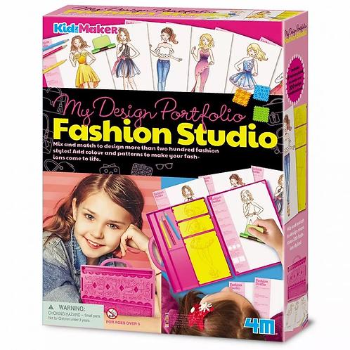 יצירת תיק עבודות לסטודיו האופנה