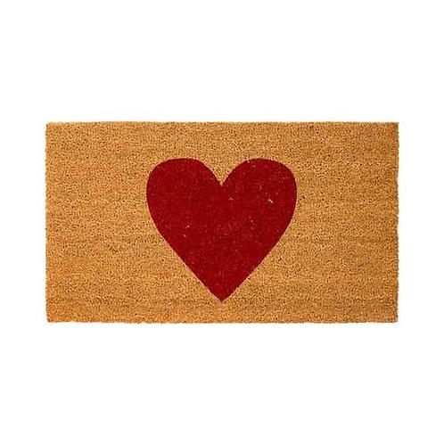 שטיח סף לב אדום