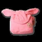 מגבת רחצה עם קשירה - ורוד
