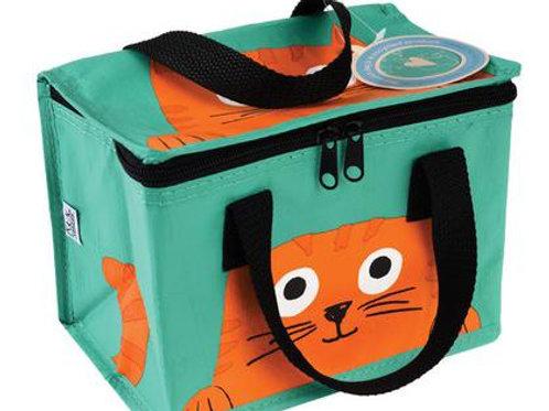 צידנית אוכל קטנה הדפס חתול