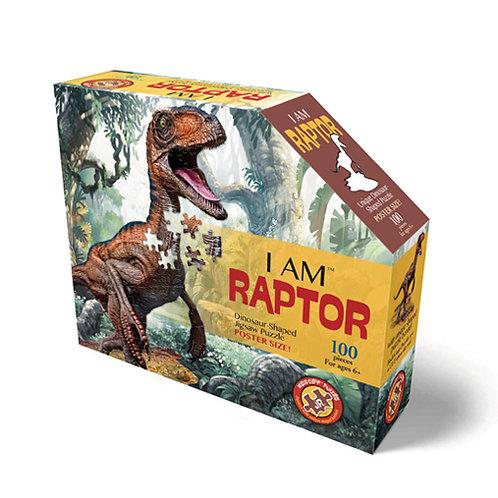 פאזל 100 חלקים – דינוזאור רפטור