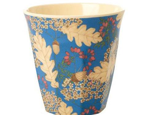 כוס מלמין טוטון עלים ופריחה