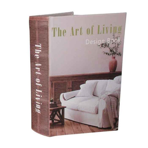 קופסה ספר The Art Of Living גדול