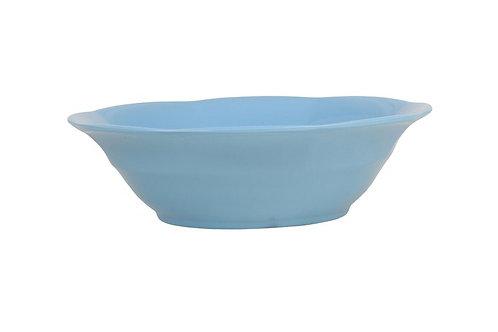 קערת מלמין למרק כחול בהיר