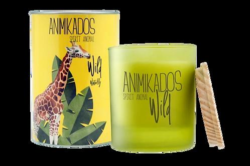 Animikados Wild נר Giraffe
