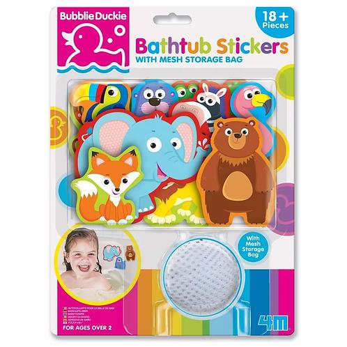 דמויות נצמדות לאמבטיה – גן החיות