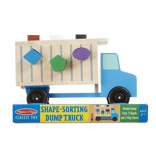 משאית אשפה התאמת צורות
