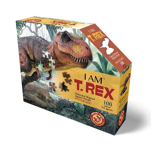 פאזל 100 חלקים – דינוזאור טי-רקס
