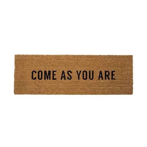 שטיח סף ארוך COME AS YOU ARE