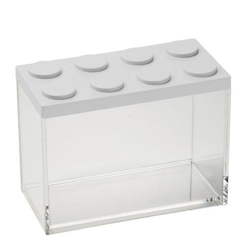 קופסת איחסון מודולרית לגו- לבן