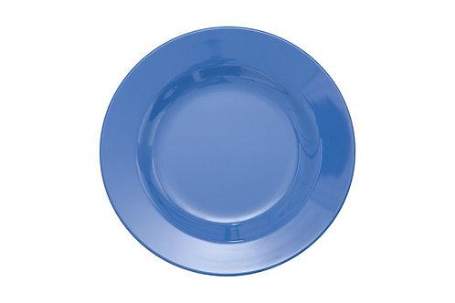 צלחת מלמין מנה ראשונה כחול
