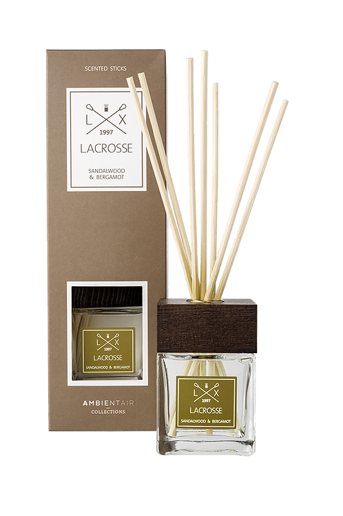 מפיץ ריח 100 מיל LACROSSE Sandalwood & Bergamot