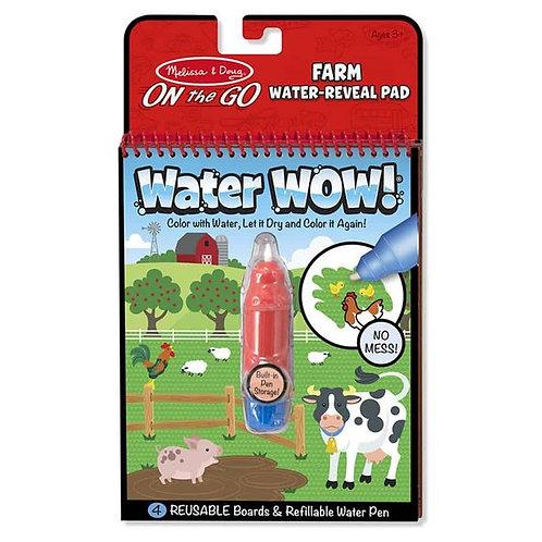 חוברת טוש המים - חווה