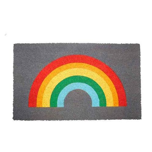 שטיח סף קשת בענן אפור
