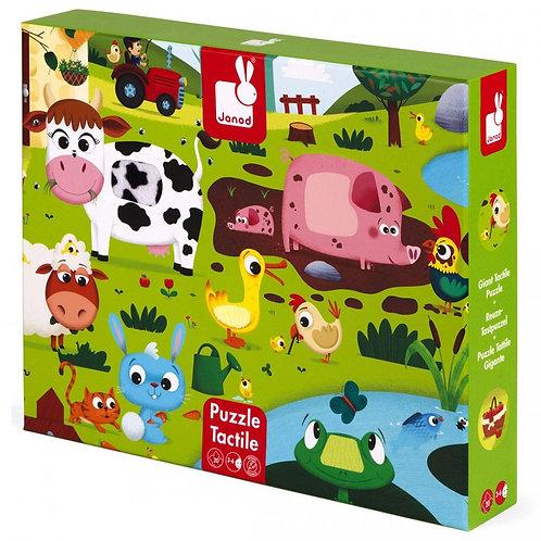 פאזל מישוש 20 חלקים - חיות החווה