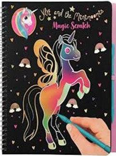 חוברת קסם צבעונית חד קרן