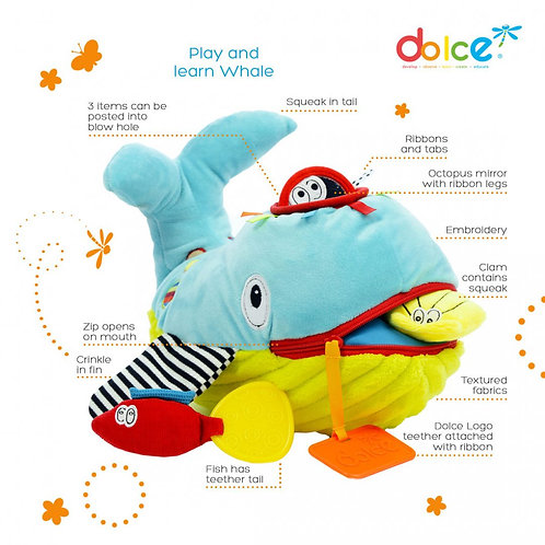 צעצוע פעילות לווייתן שחק ולמד