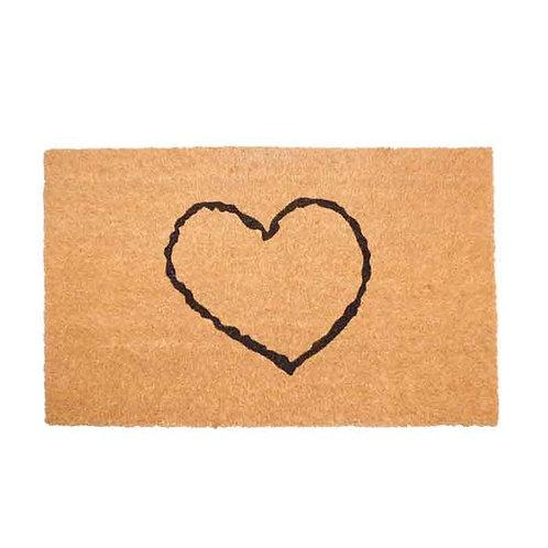 שטיח סף לב ריק