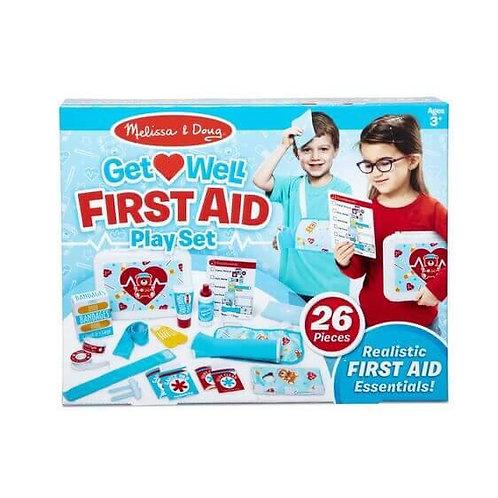 ערכת משחק עזרה ראשונה לילדים