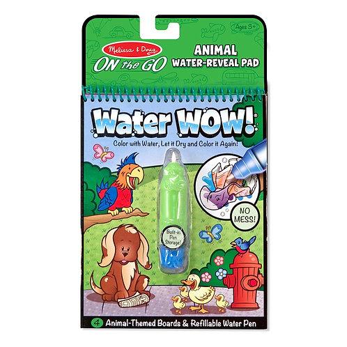 חוברת טוש המים - חיות