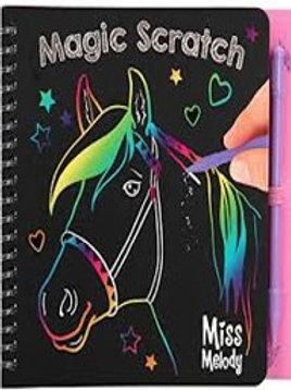 חוברת קסם צבעונית לגירוד