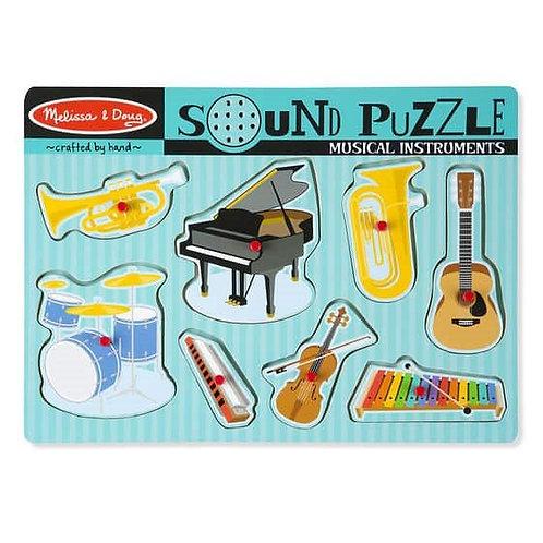 פאזל כלי נגינה מנגנים